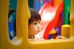 The chinese child Stock Photo
