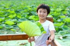 chinese child Stock Image