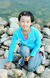 Chinese child Stock Photography