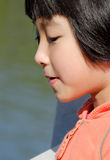 chinese child face Stock Photography