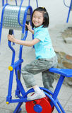 Chinese child fitness Stock Photography