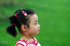 chinese child naughty Royalty Free Stock Images