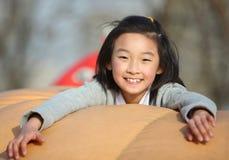 chinese child play Stock Photo