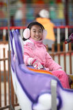 Chinese child playing games Royalty Free Stock Image