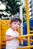 Chinese child was playing Royalty Free Stock Image