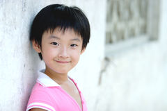 Chinese children smile Royalty Free Stock Image