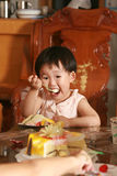 Chinese children lovely Stock Image