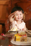 Chinese children lovely Stock Photography