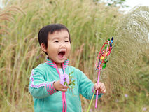 Chinese children playing. Stock Photography