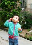 Chinese children playing. Stock Photos