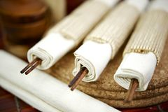 Chinese Chop-Sticks Royalty Free Stock Photo