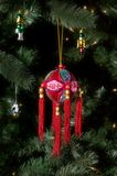 Chinese christmas bauble Royalty Free Stock Photo