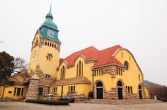 Chinese Church. A chinese church in QINGDAO city.it was builted at 1860s.it was builted by Germany Royalty Free Stock Photo