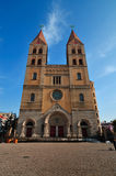 Chinese Church in Qingdao city. A chinese church in Qingdao city.it was builted at 1860s by Germany Stock Photo
