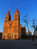 Chinese Church in Qingdao city. A chinese church in Qingdao city.it was builted at 1860s by Germany Stock Images