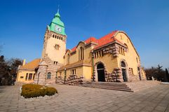 Chinese Church in Qingdao city Royalty Free Stock Photo