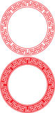 Chinese Circle Ornament Stock Images