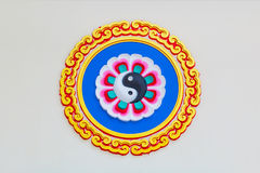 Chinese circle style Royalty Free Stock Image