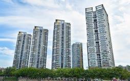 Chinese city Royalty Free Stock Photo