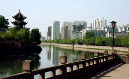 Chinese city Royalty Free Stock Photos
