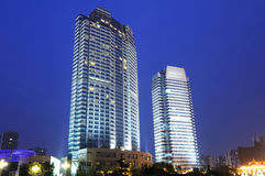 Chinese city chengdu Royalty Free Stock Photography