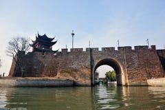 Chinese city wall Royalty Free Stock Image