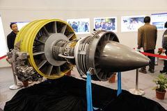 Chinese cj-1000a Turbofan engine Stock Photo