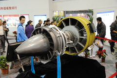 Chinese cj-1000a Turbofan engine Stock Photos