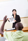 Chinese class Royalty Free Stock Photo