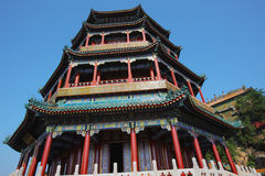 Chinese classic alcove Stock Photos
