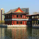 Chinese classic building Stock Photos