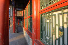 Chinese classic building details Royalty Free Stock Photo