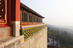 Chinese classic buildings details Royalty Free Stock Image