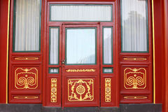 Chinese classic door Royalty Free Stock Photos