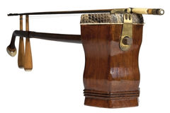 Chinese classic musical instrument called er hu Stock Photos