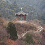 Chinese classic pavilion Royalty Free Stock Photo