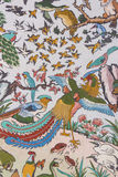 Chinese classic wall painting Royalty Free Stock Images