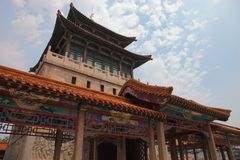 Chinese classical architecture Stock Images