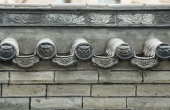 Chinese classical architecture. Chinese architecture is traditional Chinese architecture, its formation and development has a long history. Due to the vast Royalty Free Stock Images