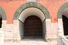 Chinese classical door Royalty Free Stock Photos