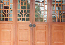 Chinese classical door and windows Royalty Free Stock Images