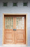 Chinese classical door and windows Royalty Free Stock Photos