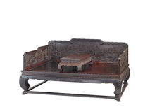 Chinese classical furniture  of Ming-style Stock Images