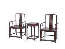 Chinese classical furniture  of Ming-style Royalty Free Stock Image