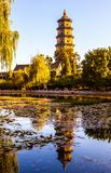 Chinese classical garden scene Royalty Free Stock Image