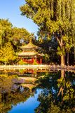 Chinese classical garden scene Royalty Free Stock Photography