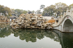 Chinese classical garden Royalty Free Stock Photo