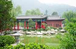 Chinese classical gardens Royalty Free Stock Images