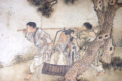 Chinese classical painting Royalty Free Stock Photography