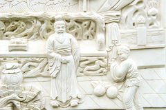 A Chinese classical sculptures Royalty Free Stock Photo